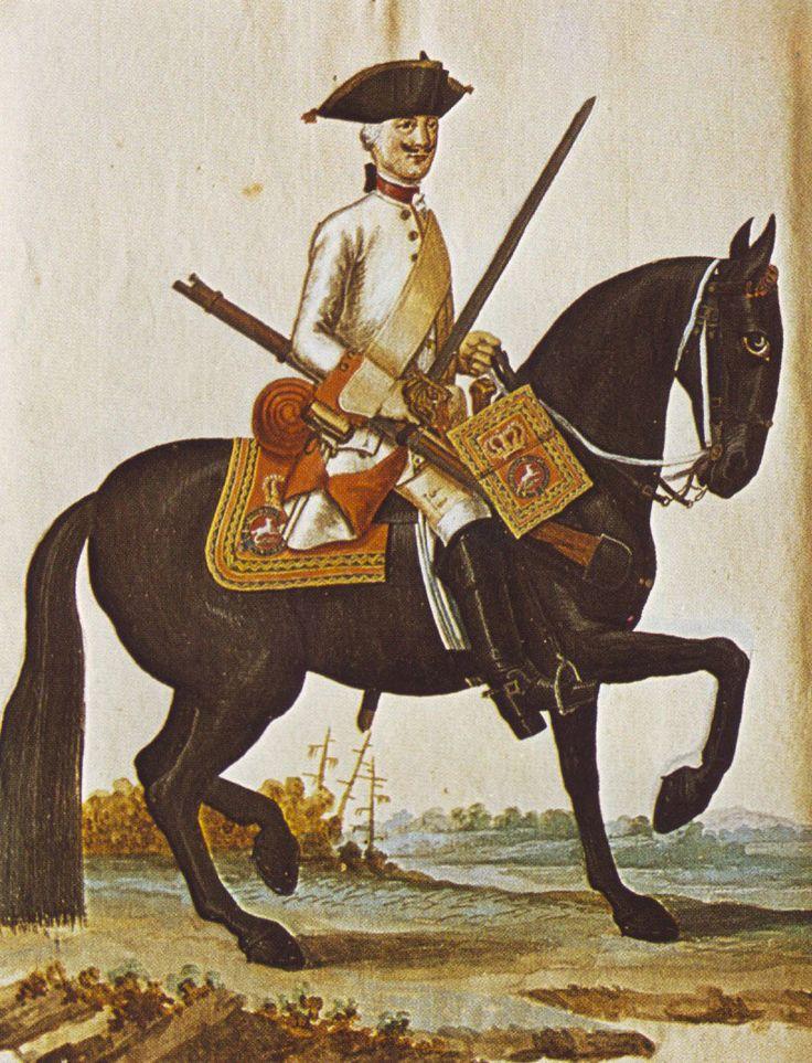 Hanover in the Seven Years War Regiment of Horse von Platen by Karsten