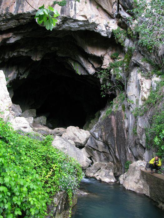Serranía de Grazalema, cueva del gato Cádiz  Spain