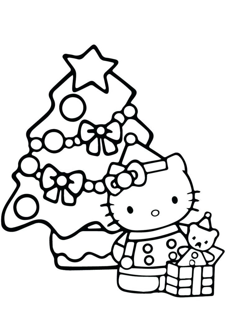Hello Kitty Christmas Coloring Pages Best Coloring Pages For Kids Hello Kitty Colouring Pages Hello Kitty Coloring Free Christmas Coloring Pages