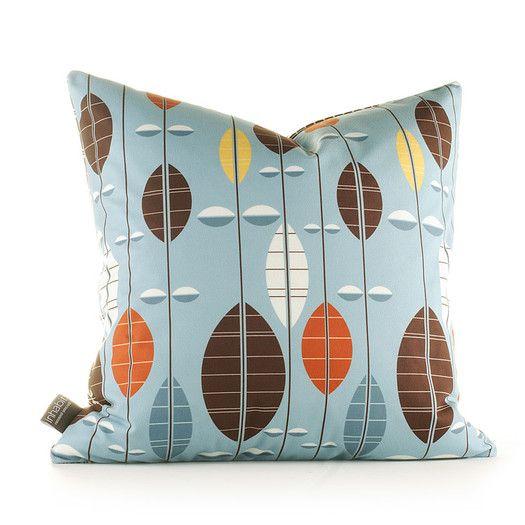 Inhabit Aequorea Carousel Synthetic Throw Pillow   AllModern