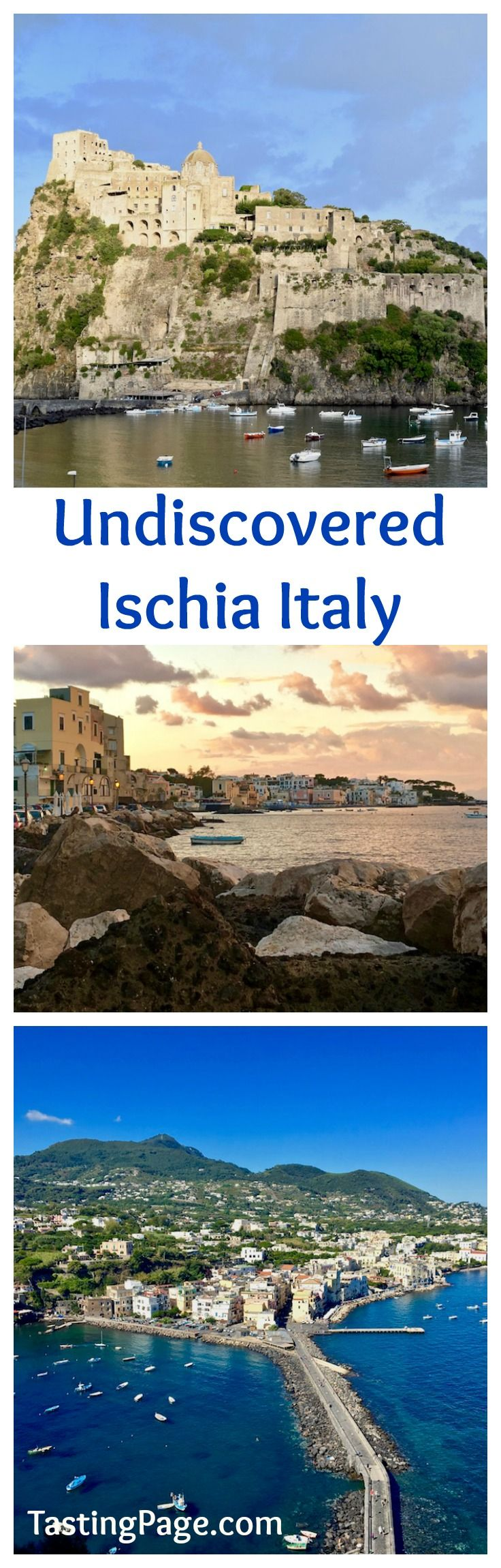 Skip overrun Capri for the more undiscovered and unassuming island of  Ischia Italy. Ischia's food, wine and thermal spas make it a great stop  when visiting Southern Italy.
