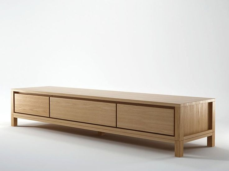 SOLID Wooden TV cabinet by KARPENTER design Karpenter