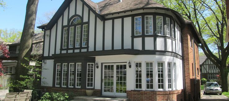 Exterior house painting and design by ColourWorks Painting Toronto