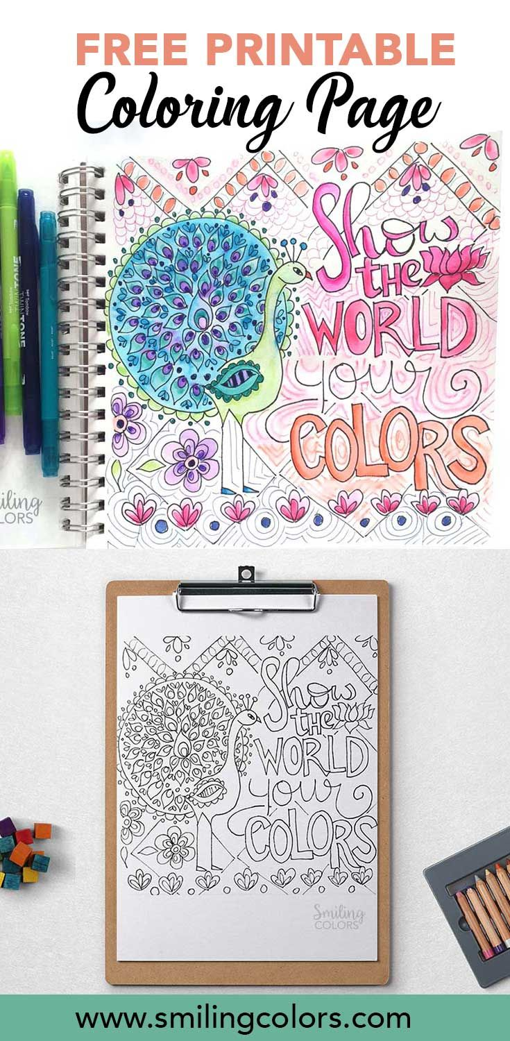 O word coloring pages - Free Coloring Page Printable Free Motivational Quote Free Word Coloring Pages Smithakatti