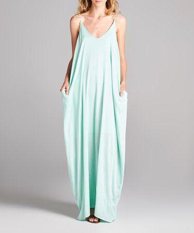 Another great find on #zulily! Mint Maxi Dress #zulilyfinds