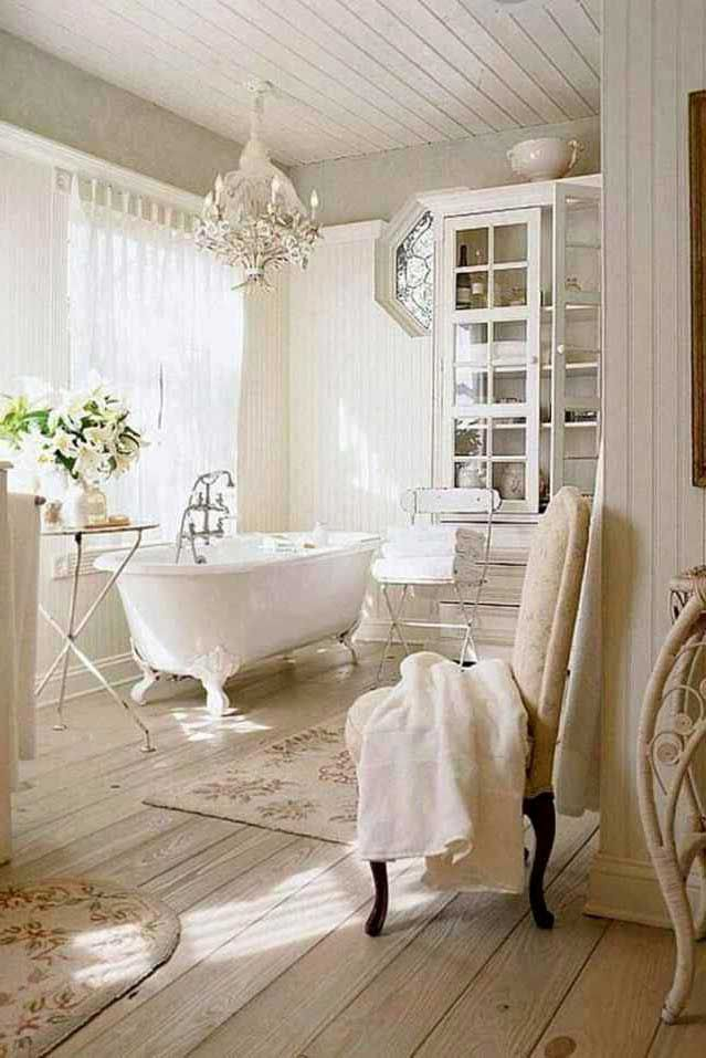 French Country Style Bathroom Design Ideas Chic Bathroom Decor Country House Decor Small Farmhouse Bathroom