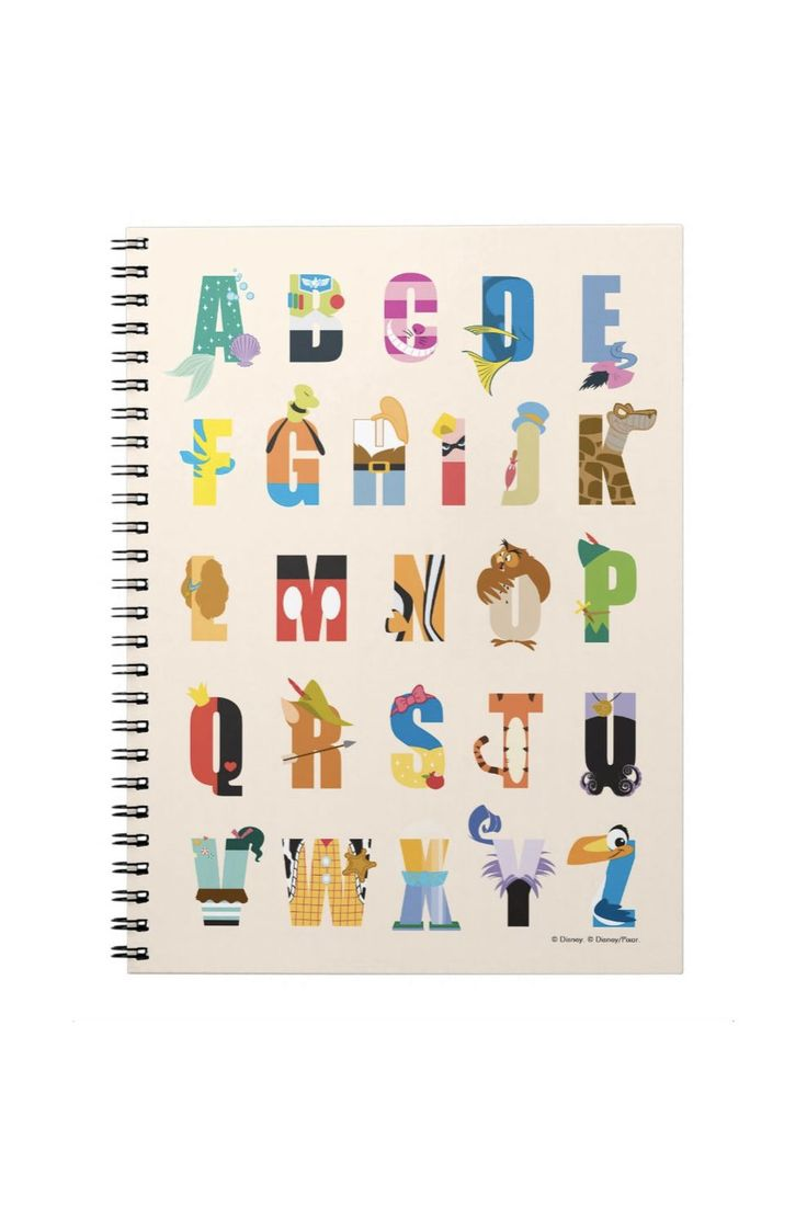 Disney Alphabet Notebook - GoodHousekeeping.com