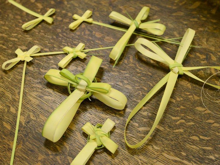 Learn how to make a palm cross for Palm Sunday. Easy instructions for this traditional Christian Easter craft.