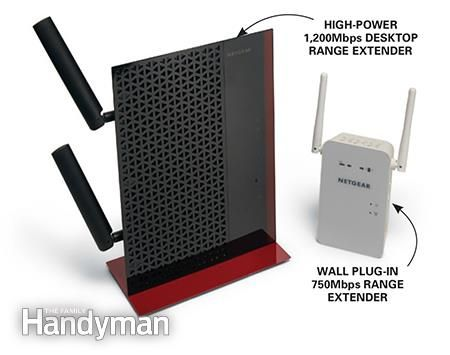 How to Make Wi-Fi Faster in Your Home: You can also make your wi-fi faster with a range extender. Learn how: http://www.familyhandyman.com/smart-homeowner/how-to-make-wi-fi-faster-in-your-home/view-all