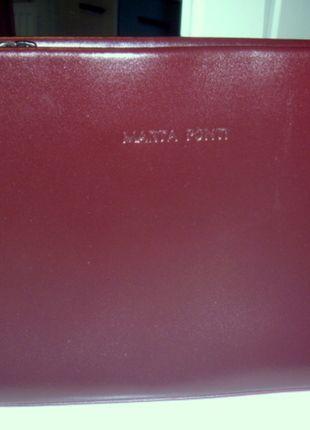 Kup mój przedmiot na #vintedpl http://www.vinted.pl/damskie-torby/torby-do-reki/10104833-bordowa-mala-poreczna-torebka-z-ekoskory