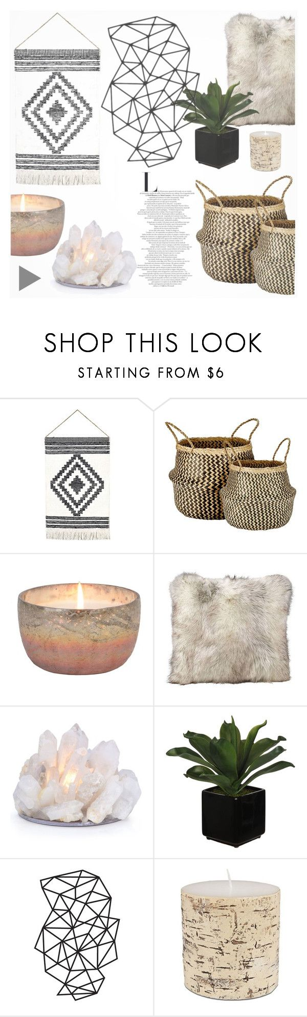 """Quartz"" by southernpearldesigns ❤ liked on Polyvore featuring interior, interiors, interior design, home, home decor, interior decorating, Murmur and Lord & Taylor"