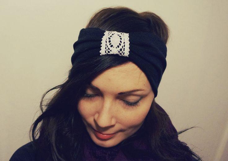 Headband from reused materials
