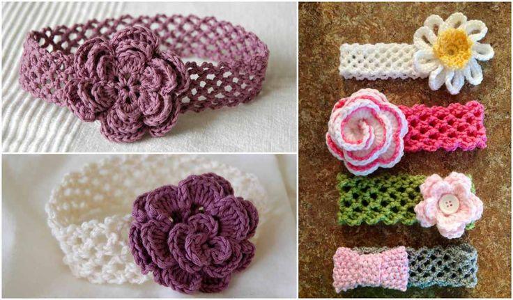 12 best crochet head bands images on Pinterest   Crochet pattern ...