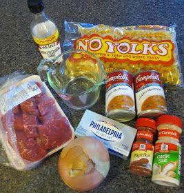 TheElegantArtist: Phat Food Friday: BEST EVER Crock Pot Beef Stroganoff