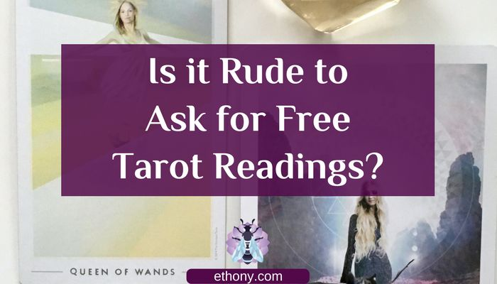 Hi Tarot Tribe, it's Ethony. Today I want to talk about Free Tarot Readings. Before I get started, these are my thoughts, you don't have to agree with everything or anything I say. If you comment below or reply to comments below, I would really like it if everyone kept it respectful. As with everything I offer, take what resonates with you and leave the rest. Free Tarot Reading requests are frequently found in my inbox, IG messages and FB messages. I know I am not alone in this. There are…
