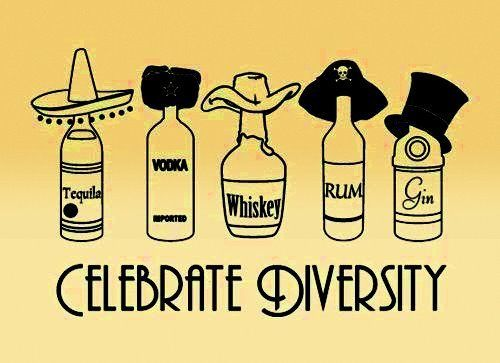 Celebrate Diversity: Laughing, Cowboys Hats, Alcohol Bottle, Quote, Finish Basements, Funny Stuff, Living The Visual, Friday Night, Celebrity Diver