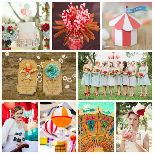 The Water for Elephants movie inspired wedding theme (Circus Carnival Wedding Theme) #MovieMonday