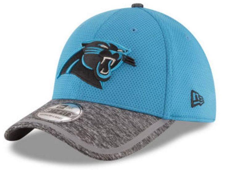 New Era NFL Carolina Panthers 2016 On Field Training 39THIRTY Cap Turq 11282811