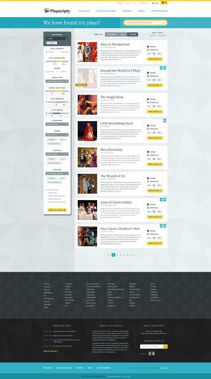 #ui #search #filter #facets Dribbble - findaplay-v1d.jpg by Sean Hennessey