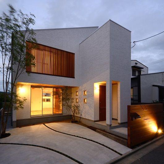 木をスタイルする家