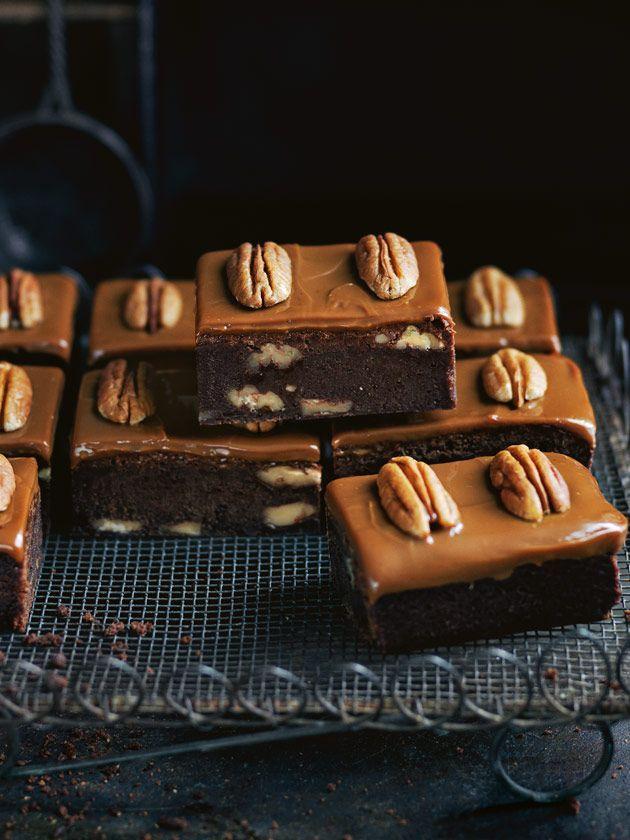 Caramel Pecan Brownie | Donna Hay