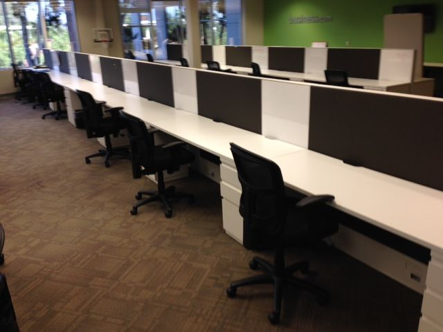 (714) 462-3676 - Save up to 75% off cubicles, office desks, office chairs, conference tables and chairs, file cabinets and reception desks. CA Office Liquidators Orange County has hundreds of used cubicles,used workstations and used office furniture available for sale. Our team of office space planners and installers will manage the delivery and installation of your new office furniture in Orange County or elsewhere in Southern California.