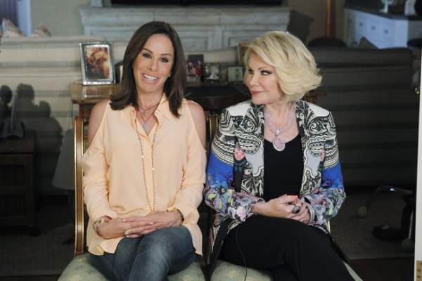 Joan and Melissa Rivers on Celebrity Wife Swap