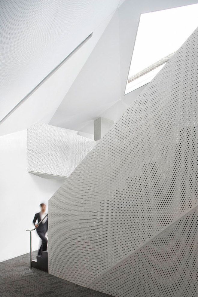 Vanke Center Steven Holl Architects Stairs Pinterest