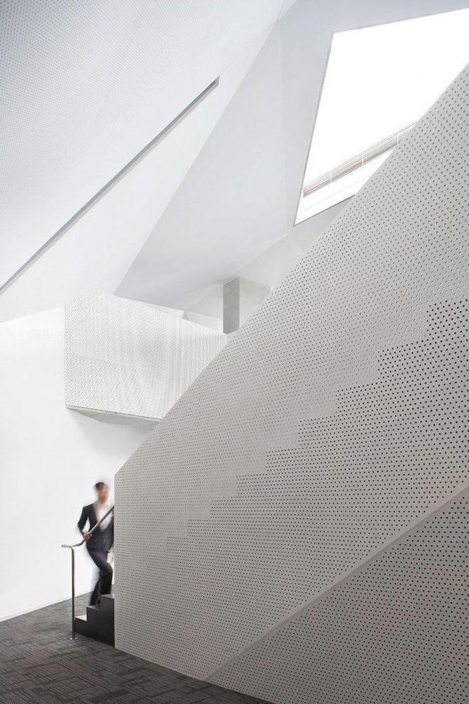 Vanke Center Steven Holl Architects Stairs Pinterest