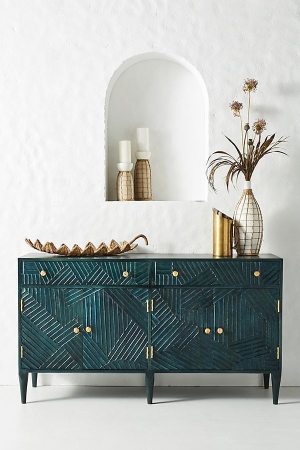 Anthropology! The best. I love this Paje Buffet #anthropologie #buffet