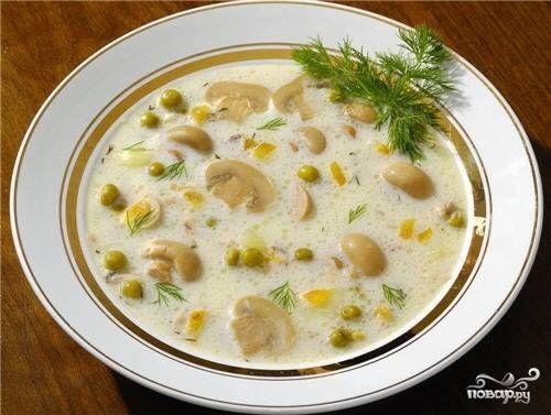 Грибной суп-пюре из шампиньонов - пошаговый рецепт с фото на Повар.ру