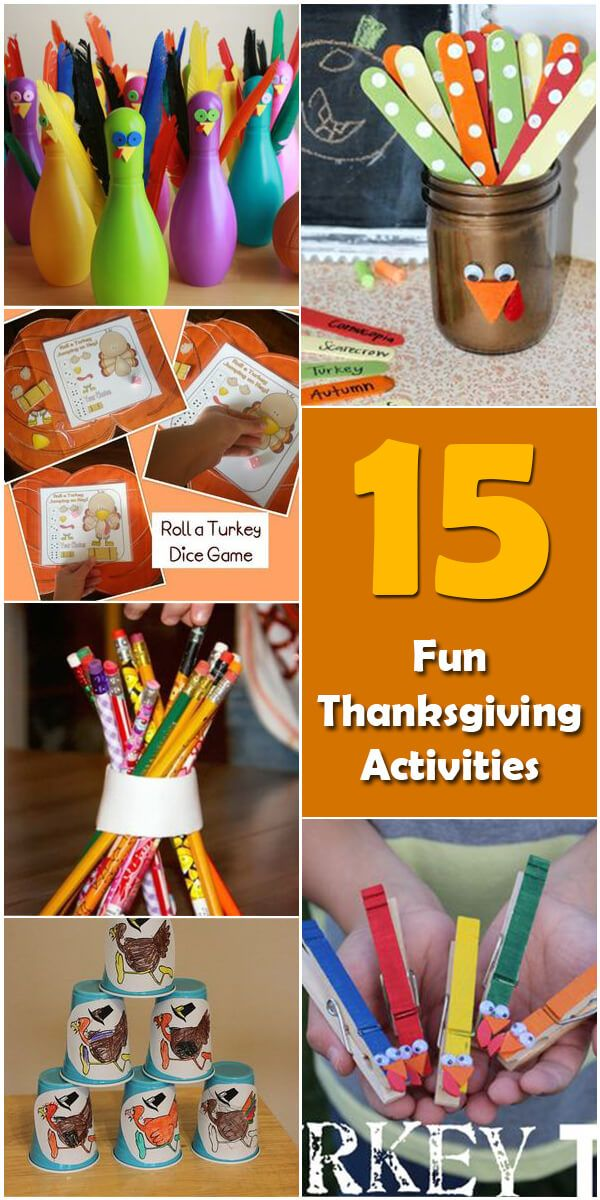 Learn about the origin and history of 15 Fun Thanksgiving Activities for Kids, or browse through a wide array of 15 Fun Thanksgiving Activities for Kids-themed