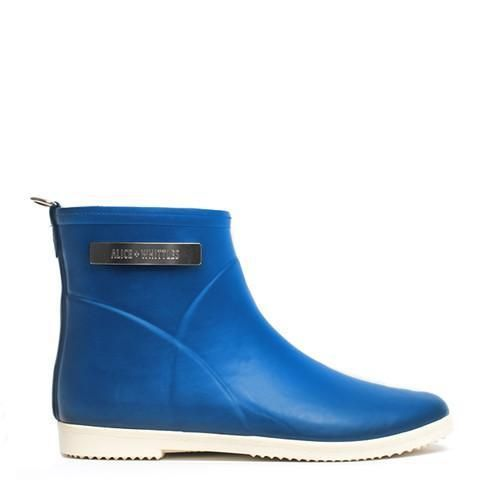 Classic Cobalt Blue Ankle Rain Boot – Alice + Whittles