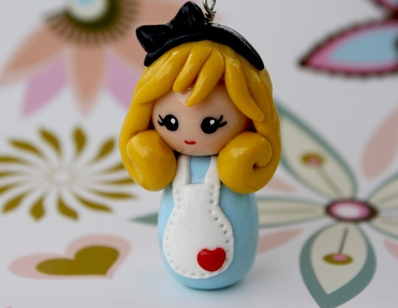 Alice in Wonderland (polymer clay)