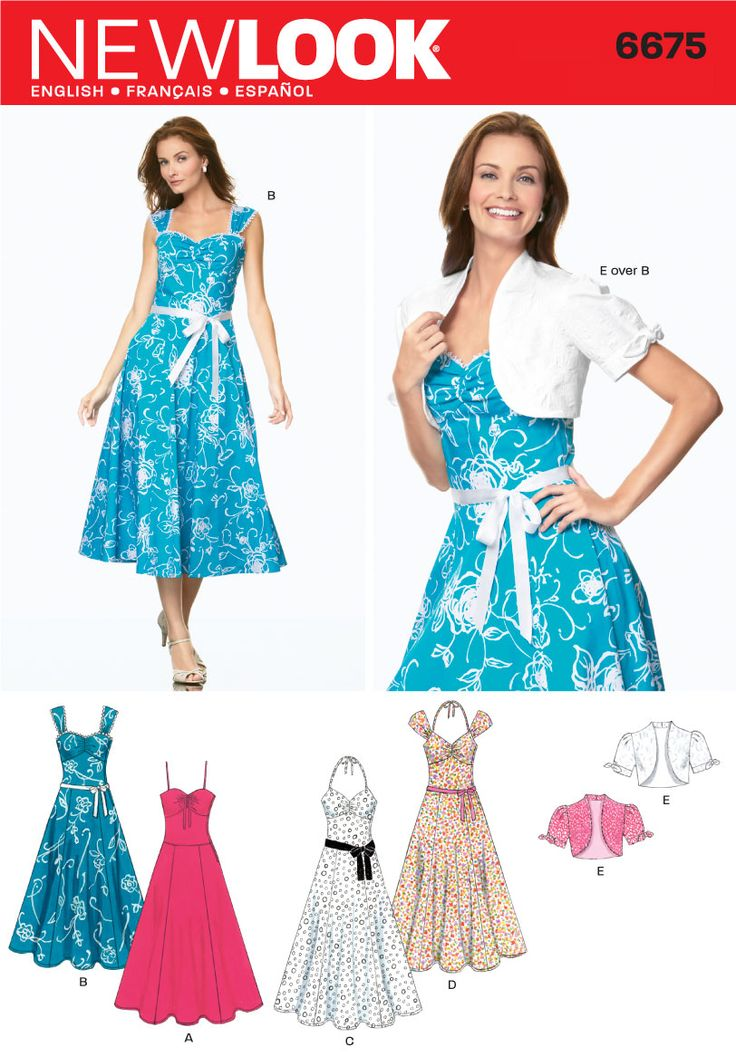 Buy dress patterns online