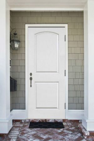How To Paint A Metal Door Front Of House Pinterest Doors Painting Dooretal