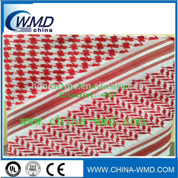 attractive design shemagh scarf red shemagh/shemagh fashion for sale