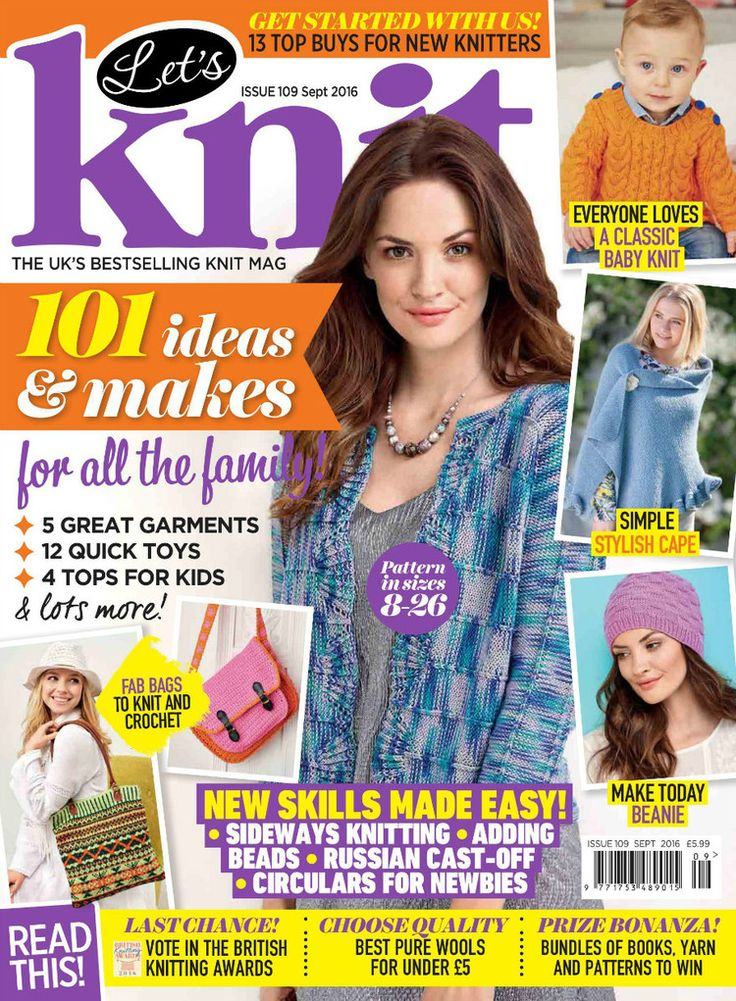 14 best knitting magazine covers images on pinterest crochet lets knit 109 2016 knitting booksknitting projectsknitting magazinecrochet fandeluxe Gallery