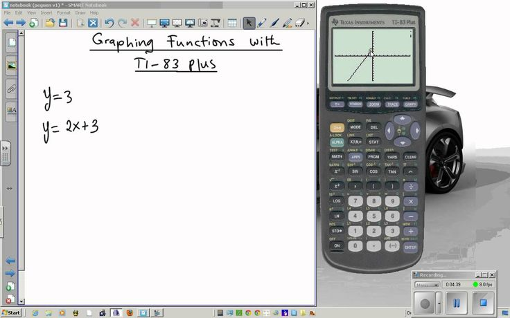 how to find trig identities on your ti 84