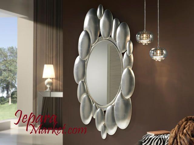 Cermin unik ini mempunyai desain minimalis modern yang elegan,bergaya simple namun tetap berkesan.cermin ini cocok untuk dekorasi hiasan dinding rumah agar terlihat semakin elegan.cermin ini terbua…