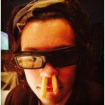 Harry Styles Looks Great Even With Chips Up His Nose, Because Of Course
