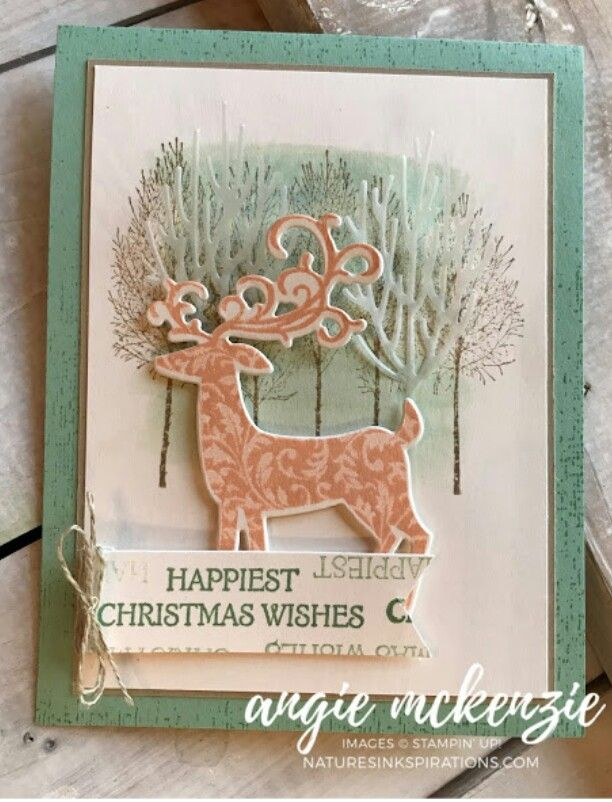 Stampin\' Up! winter woods | Others\' Stampin\' Up! Cards | Pinterest ...
