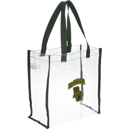 Team Beans Baylor University Clear Reusable Bag