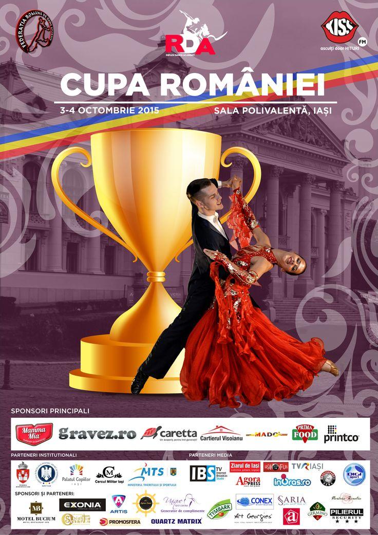Cupa Romaniei la dans sportiv, editia 2015