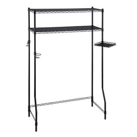 Make The Most Out Of Small Spaces In Your Dorm Room Or Bedroom With This  Over The Bed Storage Spacesaver Steel Frame With Plastic Connectors Two Adj Part 96