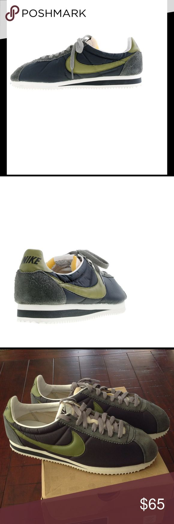 NWT Nike Classic Cortez Nylon 09 Classic Cortez Nylon 09 J CREW Edition ANTHRACITE/GREY/BLUE/PILGRIM. Never worn. Original box included. Nike Shoes