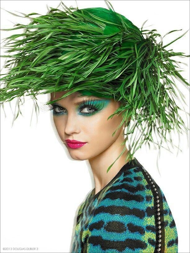 Grass hat!
