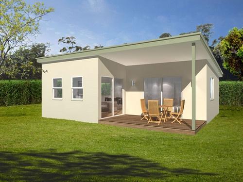 The Chesterfield 1 Bedroom, ensuite with washing machine, kitchen living/dining room 60m2. #Grannyflats #student rental #parentsretreat #dural www.buildingworksaust.com.au #sydney