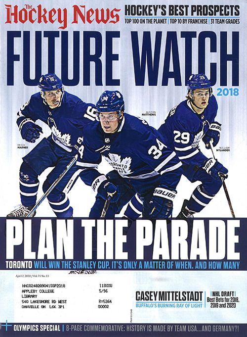 The Hockey News April 2, 2018