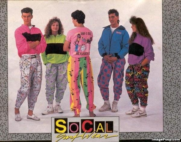 SoCal Surf Wear | Late 80s Early 90s Costume Party ... Late 90s Fashion